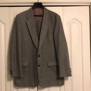 Men's Gray tweed sports jacket